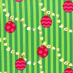 Popcorn Garland CX6629 Evergreen by Michael Miller