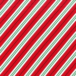 Candy Cane Stripe CX6634 Santa by Michael Miller