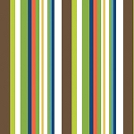 Down Under 4594-71 Primary Stripe by Mint Blossom for Northcott