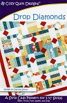 Drop Diamonds Quilt Pattern by Cozy Quilt Designs