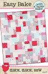 Easy Bake Quilt Pattern by Cluck Cluck Sew