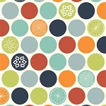 Eiko Organic EK-03 Flower Dots by Jay-Cyn Designs for Birch