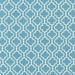 Metro Living 11018-68 Dusty Blue Tiles by Robert Kaufman
