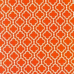 Metro Living 11018-8 Orange Tiles by Robert Kaufman