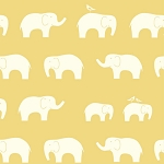 Mod Basics Organic MB-04 Sun Ellie Fam by Birch Fabrics