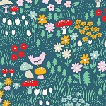 Everyday Party Organic EI-16 Meadow Floral by Birch EOB