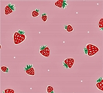 Everyday Party Organic EI-17 Pink Strawberries by Birch