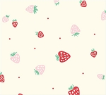 Everyday Party Organic EI-17 Cream Strawberries by Birch