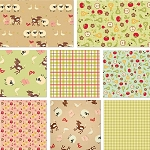 Farm Fresh 8 Fat Quarter Set by Riley Blake