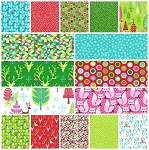Festive Forest 16 Fat Quarter Set by Tamara Kate for Michael Miller