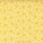 Finally Free 11857-131 Canary Tonal Floral by Robert Kaufman EOB