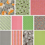 Flea Market Fancy 11 Fat Quarter Set in Spring by Denyse Schmidt