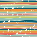 Serengeti Organic SG-06 Flight Stripe by Jay-Cyn for Birch