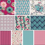 Floressence 10 Fat Quarter Set by Art Gallery Fabrics