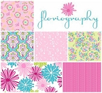 Floriography 7 Fat Quarter Set by Pink Fig for Riley Blake