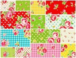 Flower Sugar 13 Fat Quarter Set by Lecien
