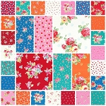 Flower Sugar 30 Fat Quarter Set by Lecien