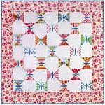 Fluttering Butterflies Quilt Pattern by Black Mountain
