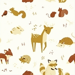 Fort Firefly Organic TW-07 Critters by Teagan White for Birch