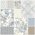 Gatsby's Flora 10 Fat Quarter Set by Red Rooster Studios