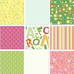 Girl Friday by Cosmo Cricket for Andover Scrap Bag 14.5 oz