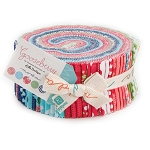 Gooseberry Jelly Roll by Lella Boutique for Moda