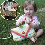 Grab and Go Diaper Clutch Pattern by Sew Fun