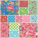 Gypsy Girl 13 Fat Quarter Set by Lily Ashbury for Moda