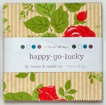 Happy Go Lucky Charm Pack by Bonnie & Camille for Moda