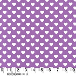 Hearts All Over CX5920 Purple by Michael Miller
