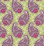 Heirloom JD55 Amethyst Paisley by Joel Dewberry for Free Spirit