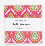 Hello Luscious Charm Pack by Basic Grey for Moda