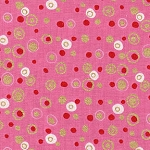 Holiday Spot & Dot M7449 B Pink by Alexander Henry