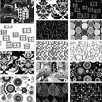 Illustrations 8 Fat Quarter Set by P & B Textiles