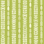 Ipanema Organic DB-05 Grass Flora Stripe by Dennis Bennett for Birch