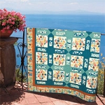 Ipanema Beat Organic Quilt Kit by Birch Fabrics
