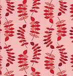 Jenaveve LVW02 Raspberry Leaves by Valori Wells for Free Spirit