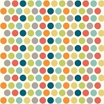 Just for Fun Organic Fun-01 Multi Dottie by Birch Fabrics EOB