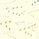 Just for Fun Organic Multi Flight by Birch Fabrics