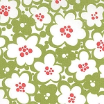 Just Wing It 32444-21 Tree Flowers by MoMo for Moda EOB