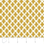 Kate 2141303-3 Mustard Neat by Camelot Fabrics
