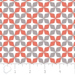 Kate 2141305-1 Grapefruit Lattice by Camelot Fabrics