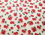 Kitchenette C4996 Cherries by Timeless Treasures EOB 1 yd