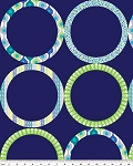 Ecco 6344-55B Navy Ring by Greta Lynn for Kanvas
