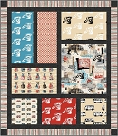 Memento Quilt Kit by Michele D'Amore for Benartex