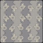 LillyBelle LB-2104 Grey Henna Stripe by Bari J for Art Gallery EOB