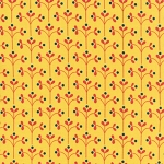 Little Kukla 12816-5 Yellow by Suzy Ultman for Robert Kaufman