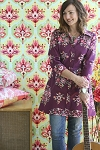 The Liverpool Shirt, Tunic, Short-Long Dress Pattern by Amy Butler