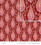 Amy Butler Love AB47-Wine Cypress Paisley