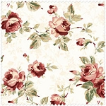 Tomorrow's Promise 2017-E Large Cream Floral by Maywood Studio